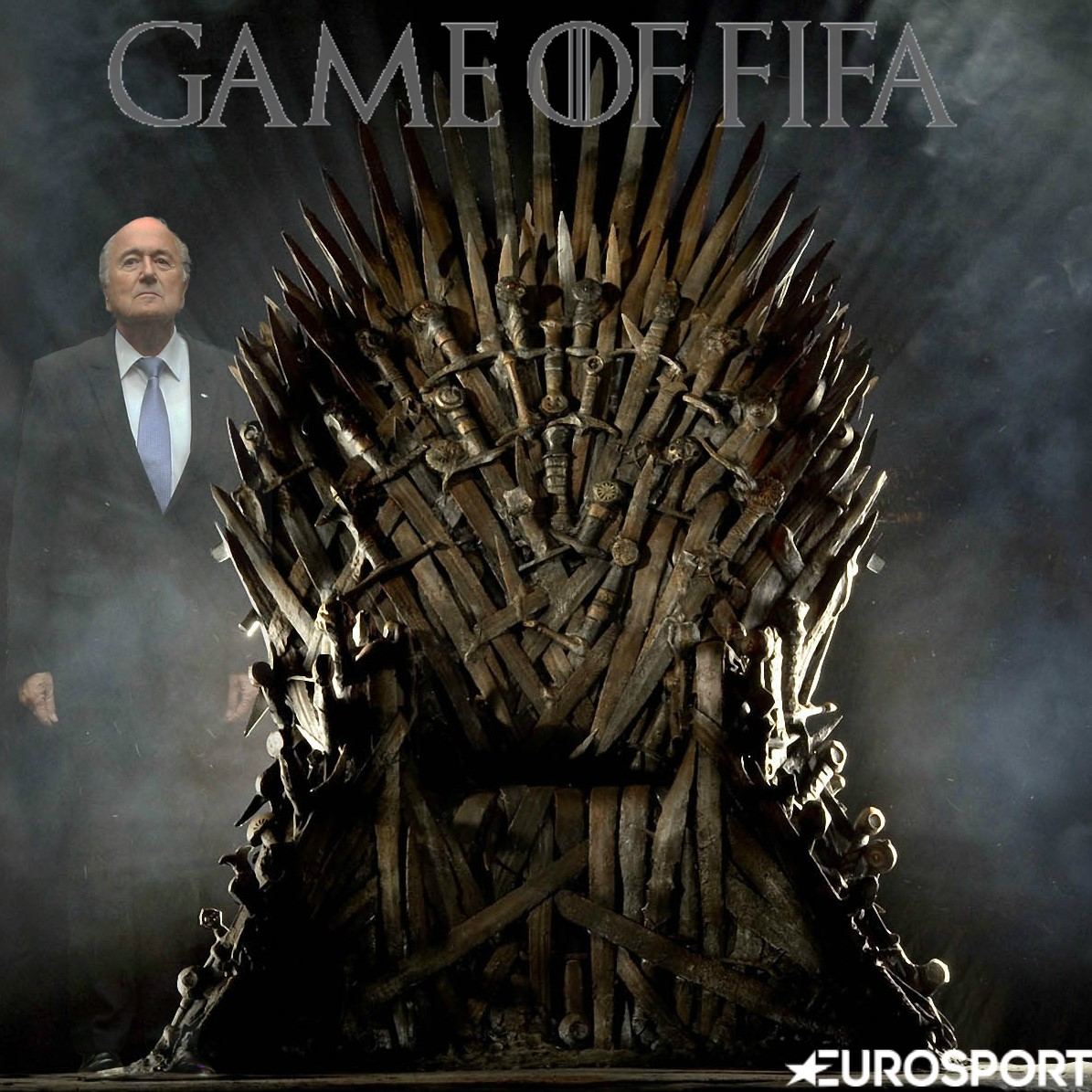 Visuel Game of FIFA Blatter