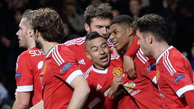 Manchester United peut remercier Rashford, Naples tombe de haut