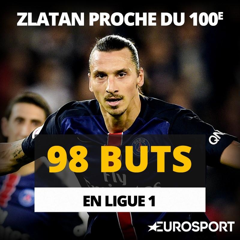 L1 Stats 28è journée : Visuel Zlatan