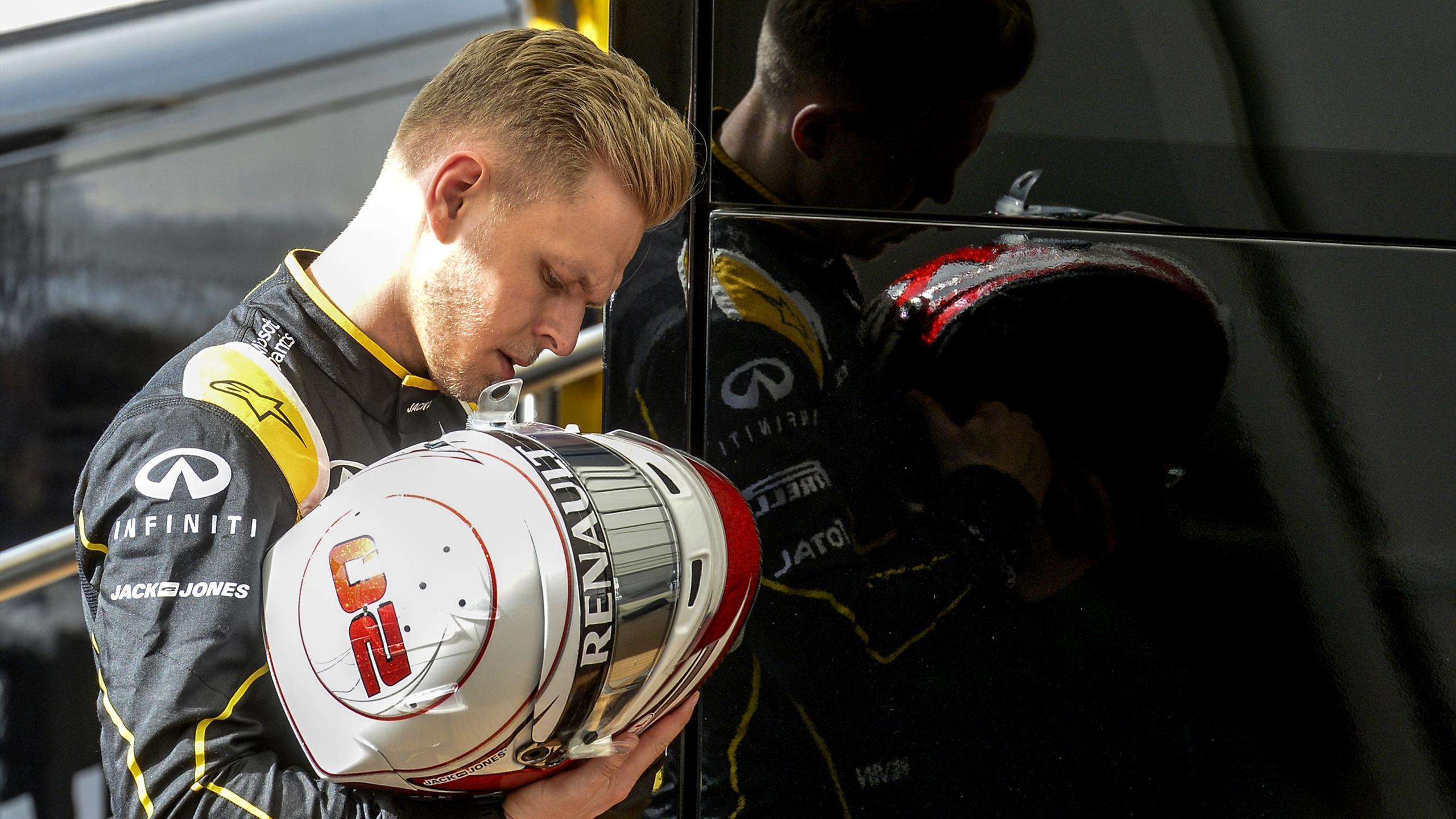 Kevin Magnussen (Renault) - Tests Montmelo 2016