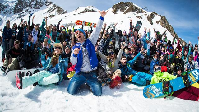 Промо сноубордической тусовки, после которого хочется рвануть в Сочи