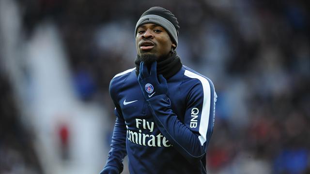 Le PSG envoie Aurier en CFA jusqu'au 20 mars
