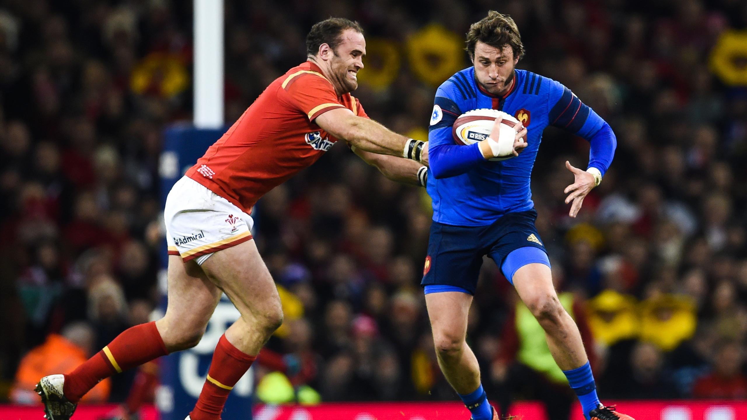 Maxime Médard (XV de France) face au pays de Galles - 26 février 2016