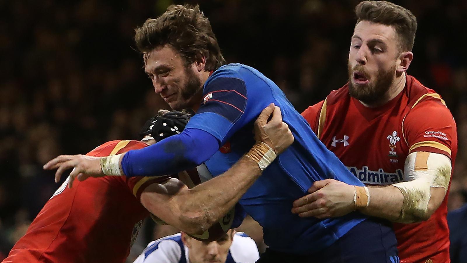 Maxime Medard (XV de France) face au pays de Galles - 26 février 2016