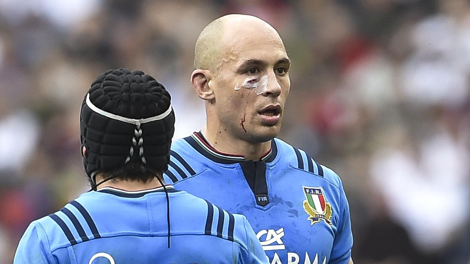 Sergio Parisse, le capitaine de l'Italie - février 2016