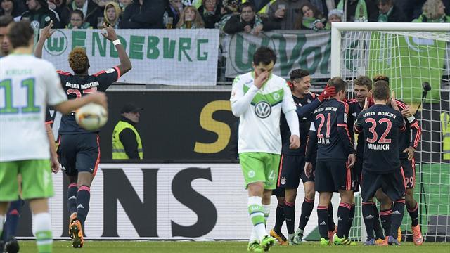 Tombeur de Wolfsburg, le Bayern file plus que jamais vers le titre