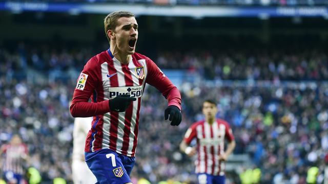 Griezmann et l'Atlético font tomber le Real de Zidane