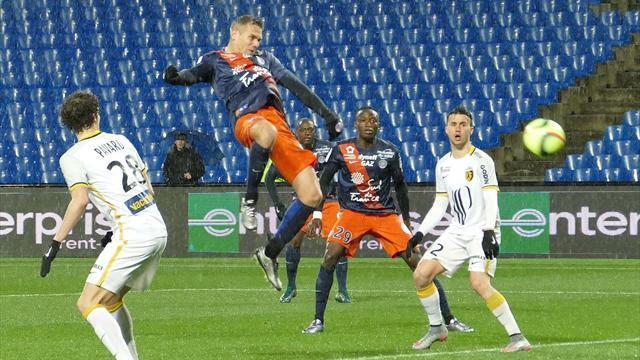 Montpellier enchaîne, Lille boit la tasse (et perd Boufal)