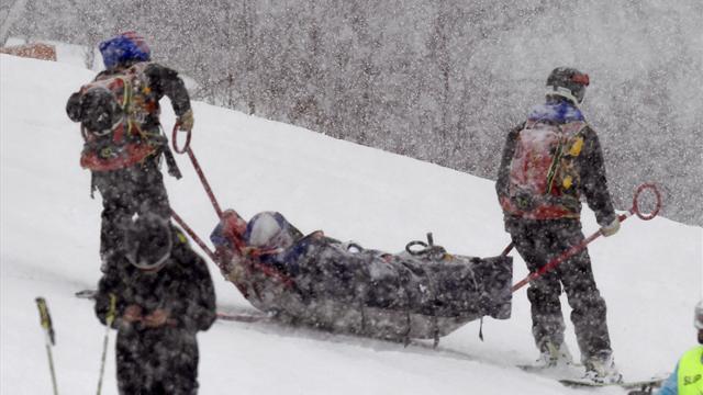 """Après sa chute, Lindsey Vonn souffre d'une """"fracture de fatigue""""... mais envisage de courir dimanche"""