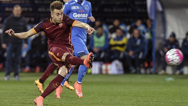 Avec un doublé, El Shaarawy offre une 6e victoire de rang à la Roma