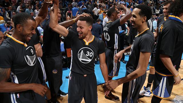 Il n'est pas humain : Curry fait tomber OKC avec 12 tirs à trois points, et le panier de la gagne