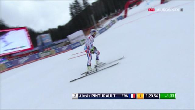 A Hinterstoder, Pinturault a encore dominé la première manche du géant
