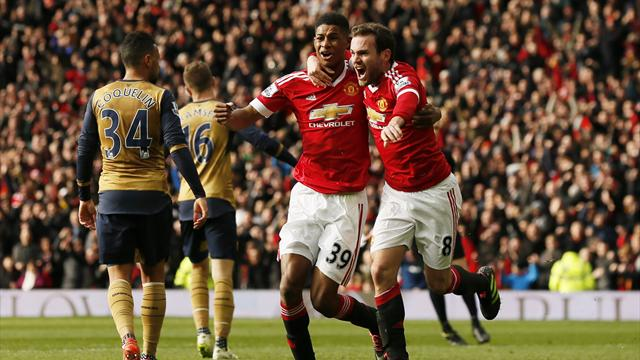 Arsenal revient encore bredouille d'Old Trafford et laisse filer Leicester