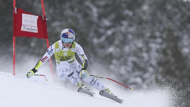 Regardez la Coupe du Monde de Ski Alpin en direct sur Eurosport 1 et Eurosport Player