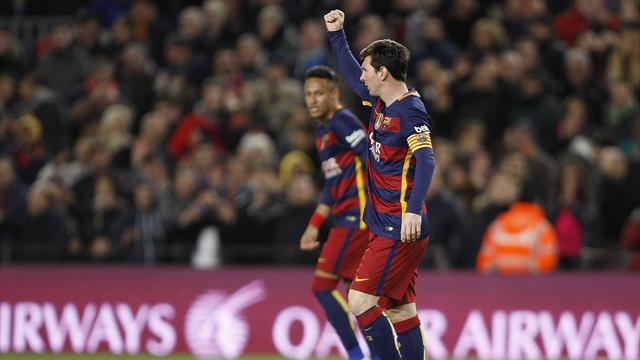 Le Barça reprend ses distances et égale un record du Real vieux de 27 ans