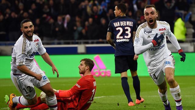 Près d'un an après sa dernière défaite, Paris est tombé à Lyon
