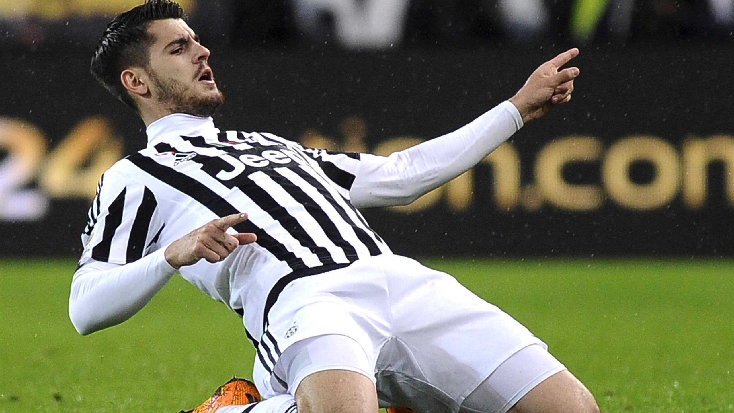 Футбол италии ювентус а мората
