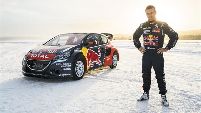 Loeb s'engage en Mondial de rallycross avec Peugeot