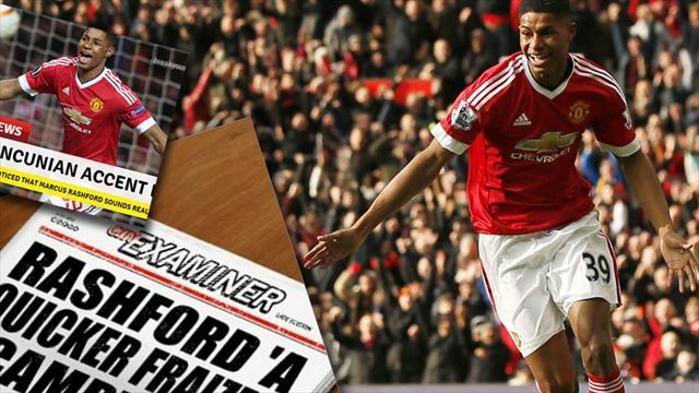 Quiz Fact Or Fiction 11 Ludicrous Marcus Rashford Headlines From The Last Week Premier League 2015 2016 Football Eurosport Uk