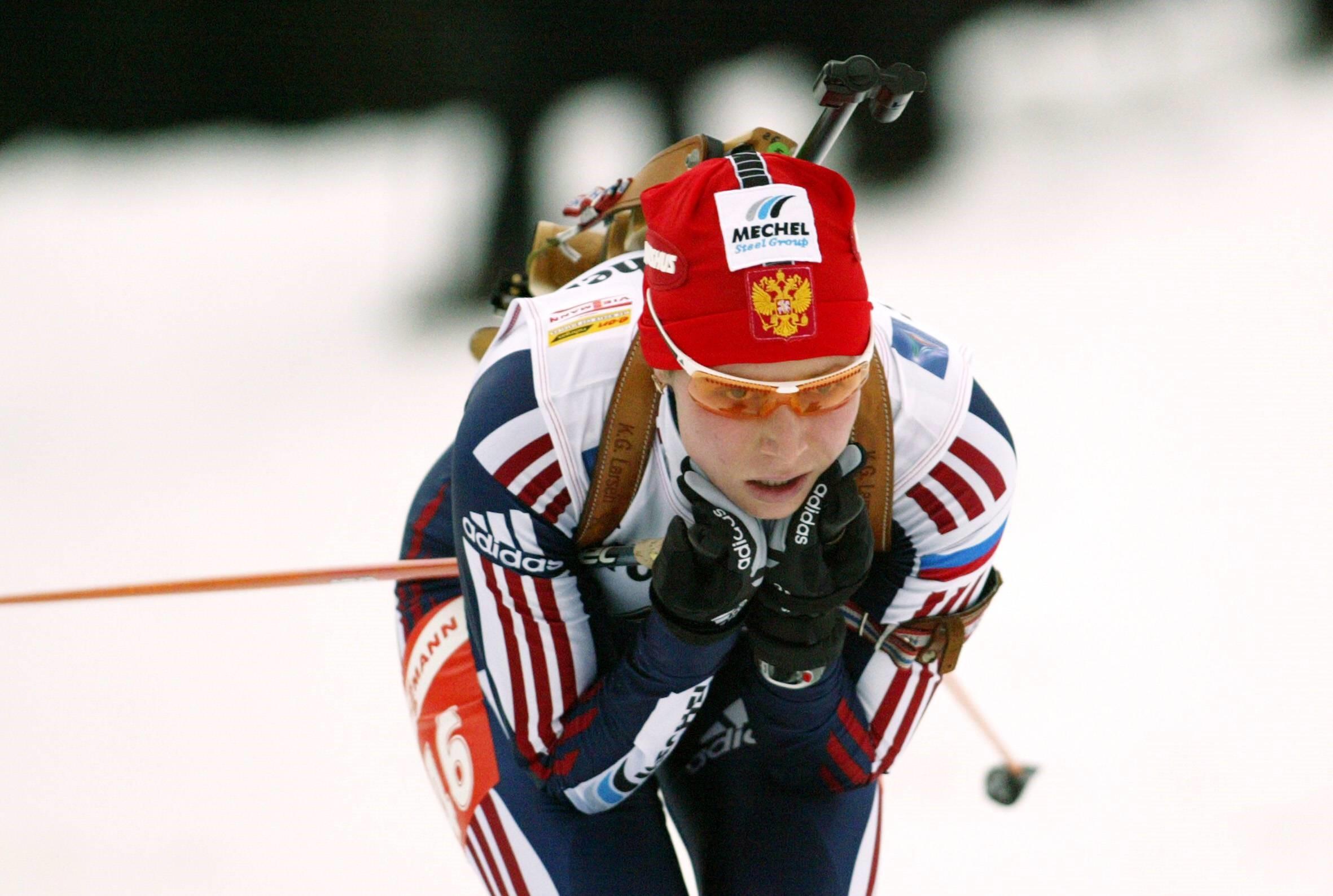 Ульяна Денисова в 2005 году