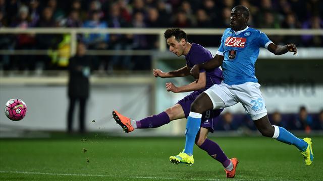 Contre la Fiorentina, Naples cale encore