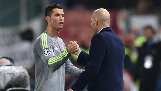 """Zidane : """"Le problème avec Cristiano est réglé"""""""