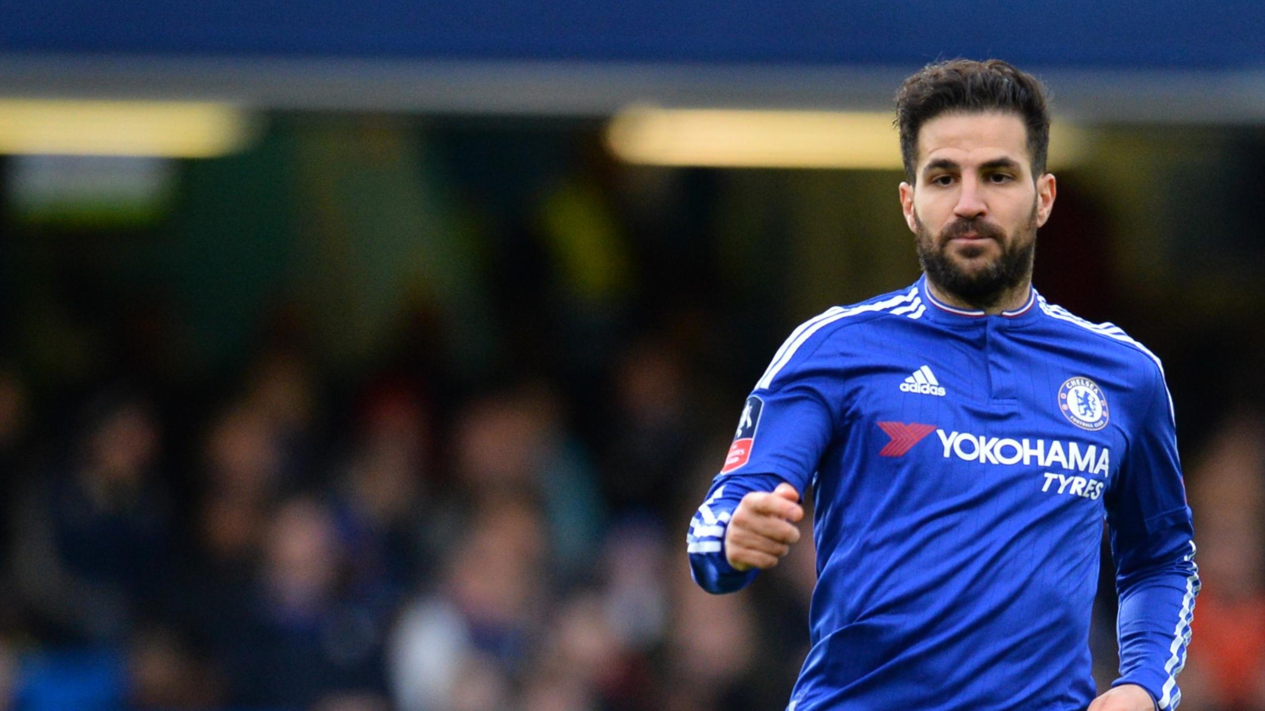 Chelsea's Spanish midfielder Cesc Fabregas
