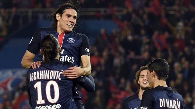 Di Maria, Lucas, Ibrahimovic et Cavani titulaires : Blanc joue à fond l'attaque