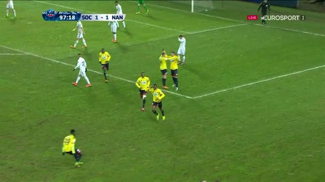 Cissé s'est arraché et Sochaux passe devant : le but du 2-1