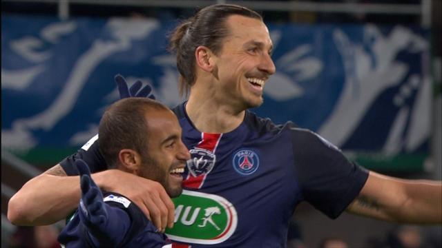 Trois buts, une qualification et le PSG s'est remis d'aplomb
