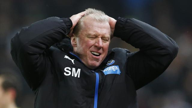 Newcastle boss Steve McClaren sees signs of recovery despite defeat at Stoke