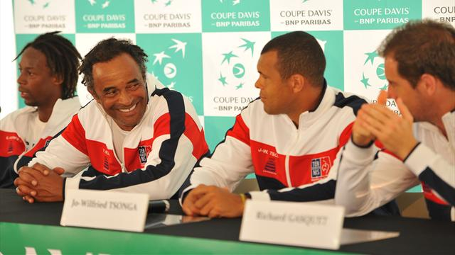 Tennis : Noah repart pour une année à la tête des Bleus