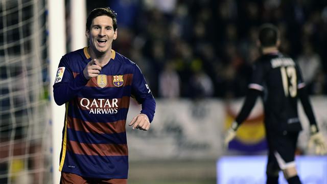 Un triplé de Messi, 5 buts et un record : le Barça était encore très inspiré