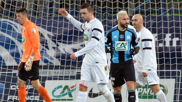 Coupe de France - Suivez en live la rencontre de Football opposant US Granvillaise et Olympique de Marseille. Ce match se déroule le 3 mars 2016 et débute à.