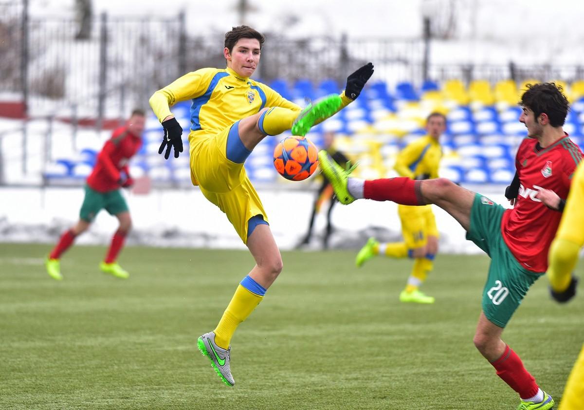 Матч СДЮШОР «Строгино» и «Локомотива»