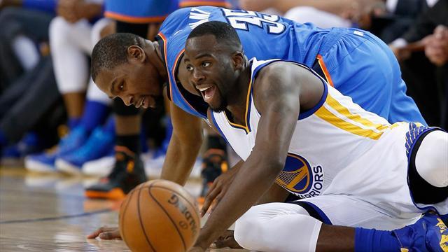 Les Warriors écoeurent encore le Thunder, Leonard porte les Spurs : ce qu'il faut retenir de la nuit