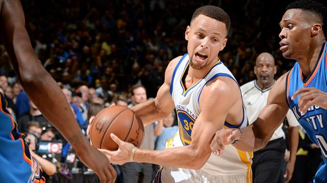 Davis au contre, Curry slalome : le Top 10 de la nuit