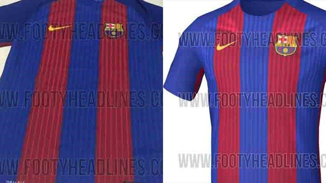 Filtrada la camiseta del Barcelona para la temporada 2016 2017 - Fútbol -  Eurosport Espana 3db41f2beec2c