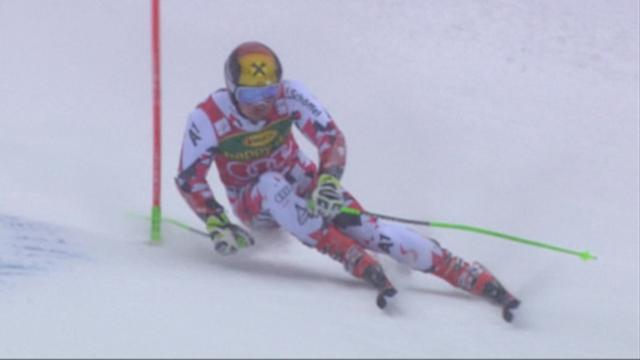 Hirscher a dompté Pinturault lors du premier run