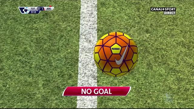 """Tottenham-Arsenal en est la preuve : la """"goal line technology"""" est (très) efficace"""
