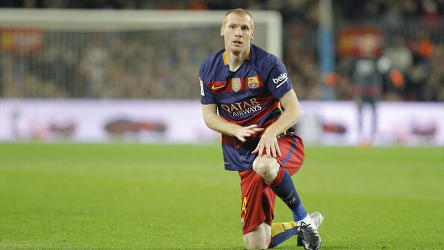 Mathieu a encore sa place au Barça et ça pourrait durer
