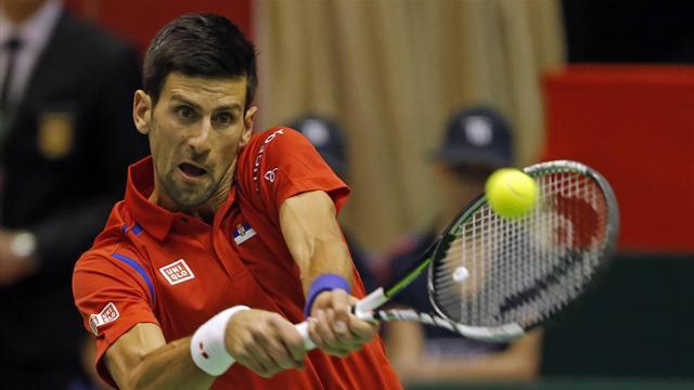 Djokovic et la Serbie tout près de la sortie, Murray proche du but
