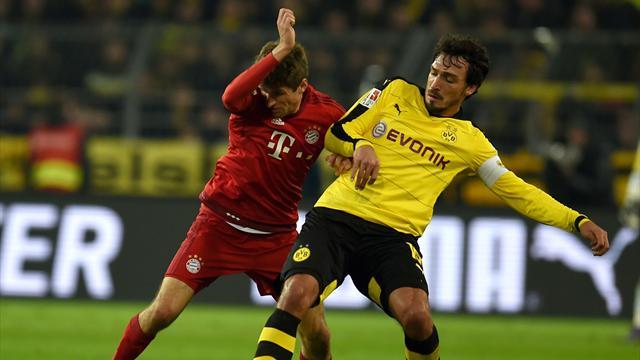 Le choc au sommet a tenu ses promesses mais Dortmund n'a pas fait vaciller le Bayern