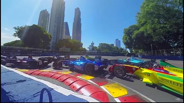 Vidéo à 360° : L'ePrix de Buenos Aires comme si vous étiez au volant d'une Formule E