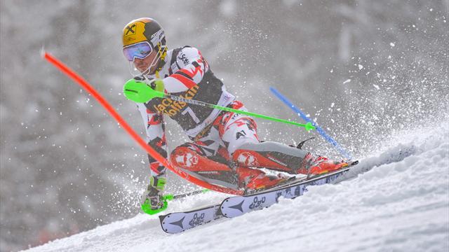 Au lendemain du géant, Hirscher s'est offert le slalom et Kristoffersen le petit globe