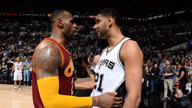 Désolé Kobe, Duncan est le plus grand basketteur de sa génération