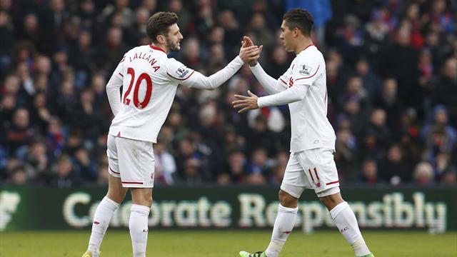 Liverpool a attendu d'être en infériorité numérique pour renverser Crystal Palace
