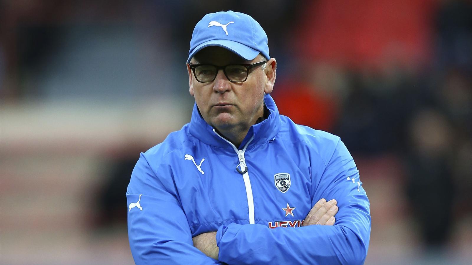 Jake White, l'entraîneur de Montpellier