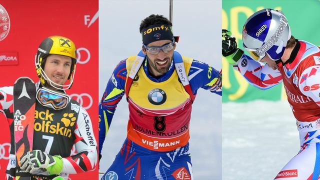 Après-ski : Hirscher, Fourcade, Pinturault... les champions ont tutoyé les légendes