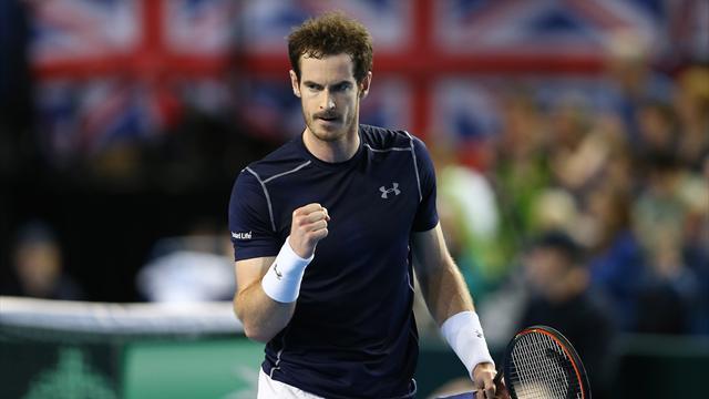 Murray et Djokovic en ont bavé, mais la Grande-Bretagne et la Serbie se retrouveront en quart